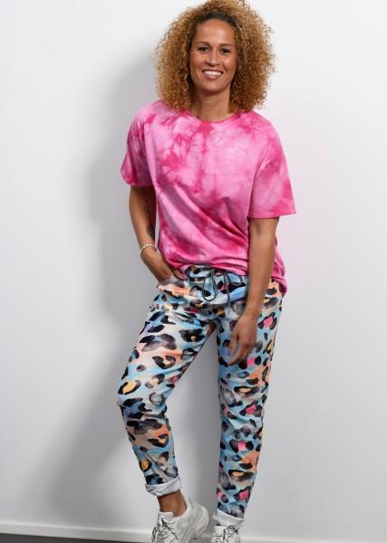 T-Shirt - Batik - fuchsia