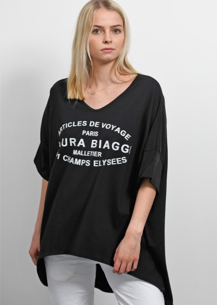 Ultra oversized T-Shirt - schwarz