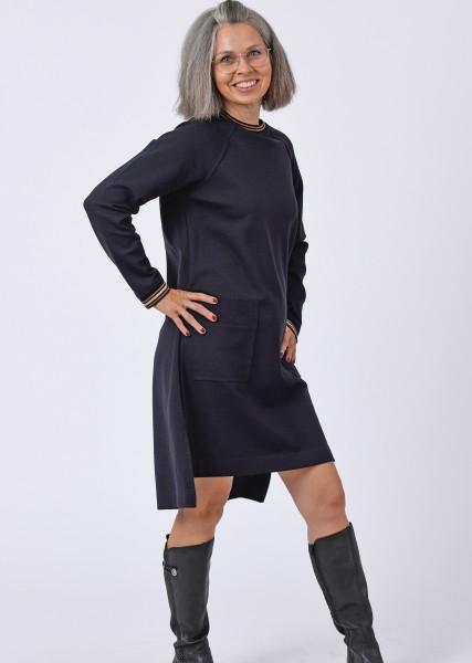 Jerseykleid in nightblue