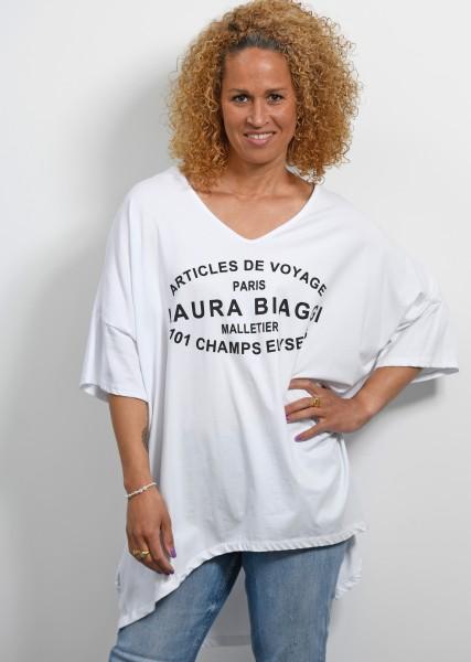 Ultra oversized T-Shirt - weiß