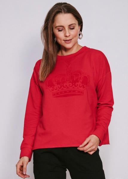 Sweatshirt rot - oversized