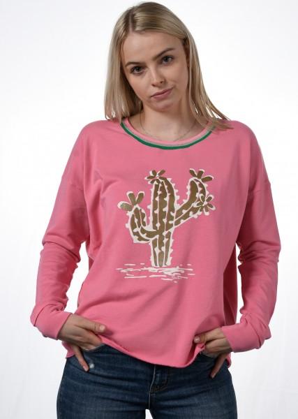 legeres Sweatshirt mit Motiv
