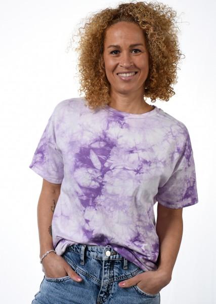 T-Shirt - Batik - lavendel