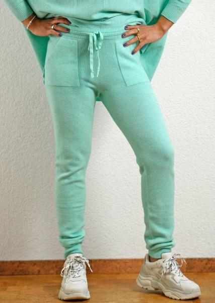 Strickhose in mintgrün