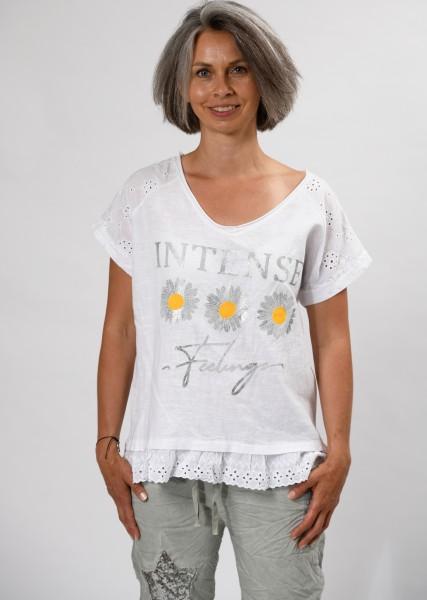 Blusenshirt mit Motivprint