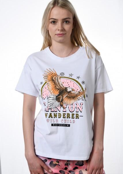 T-Shirt mit Druckmotiv