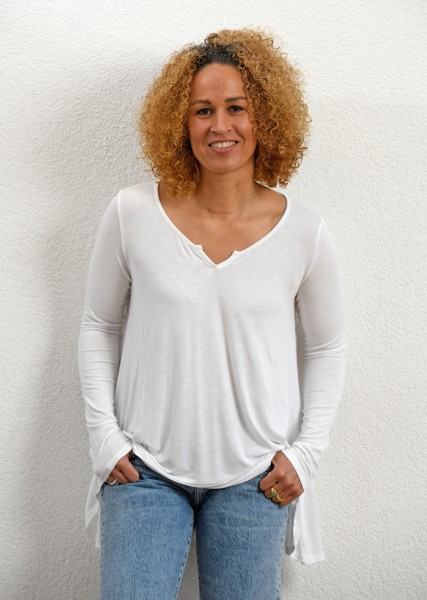 T-Shirt in weiß
